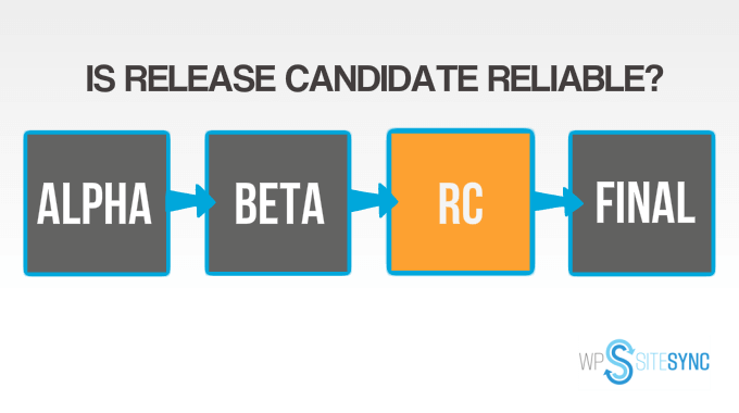 WPSiteSync release candidate vs general release